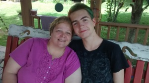A young man and his awesome Nana!